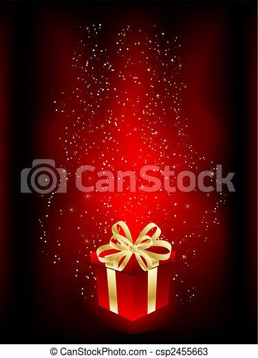 Christmas gift - csp2455663