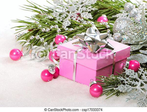 Christmas gift - csp17033374