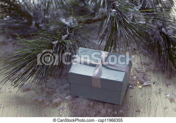 christmas gift - csp11966355