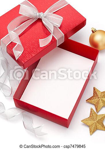 christmas gift - csp7479845