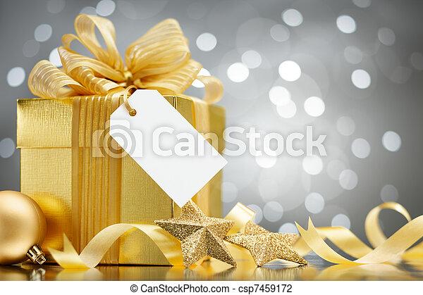christmas gift - csp7459172