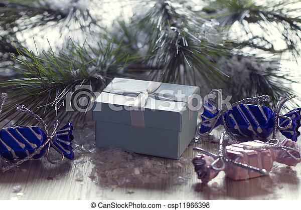 christmas gift - csp11966398