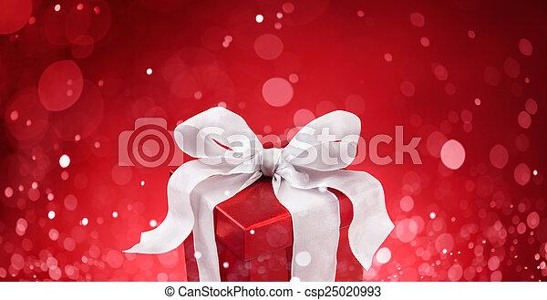 christmas gift - csp25020993