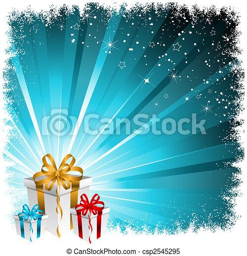 Christmas gifts  - csp2545295