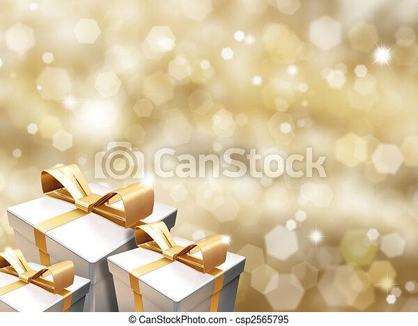 Christmas gifts - csp2565795