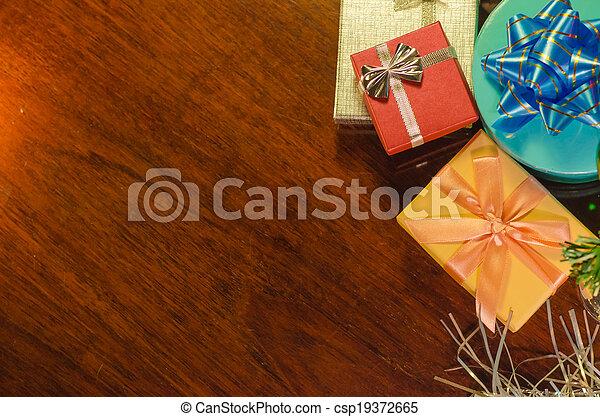 christmas gifts - csp19372665