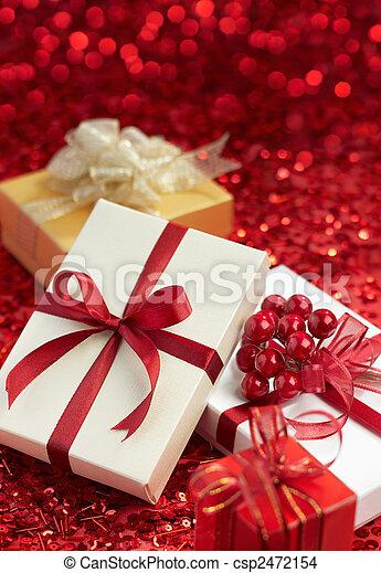 christmas gifts - csp2472154