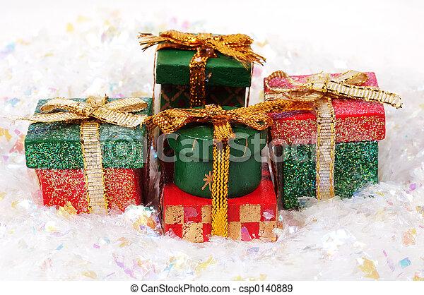 Christmas Gifts - csp0140889