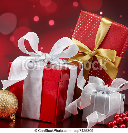 christmas gifts - csp7425309