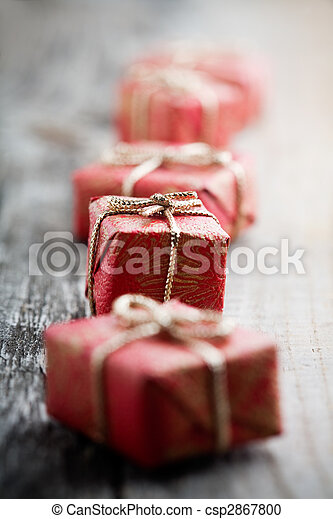 Christmas gifts - csp2867800