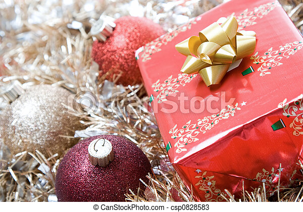 Christmas gifts - csp0828583
