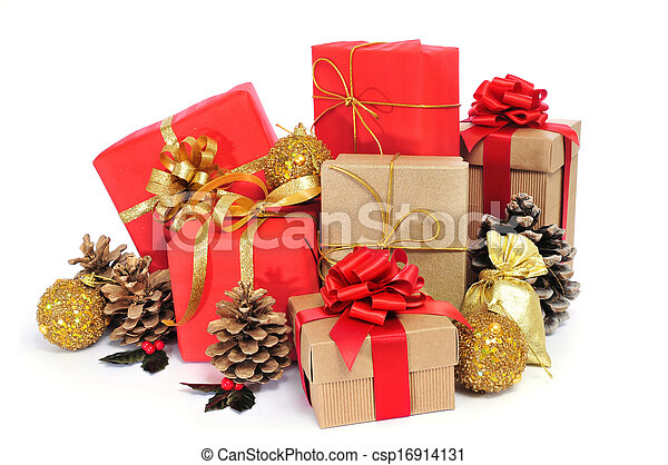 christmas gifts - csp16914131