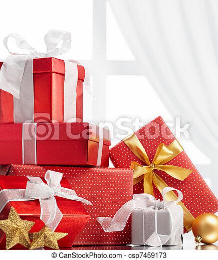christmas gifts - csp7459173