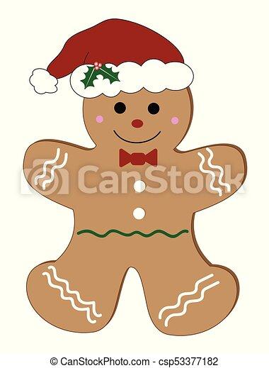 christmas gingerbread man csp53377182 - Christmas Gingerbread Man