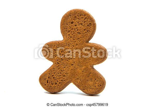 christmas gingerbread man - csp45799619