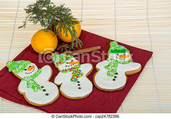 Christmas gingerbread - csp24782386