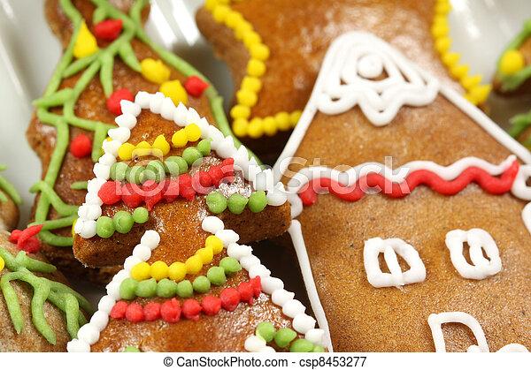 Christmas gingerbread tree - csp8453277