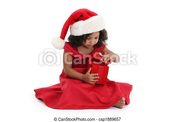 Christmas Girl - csp1889657