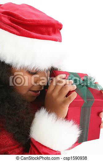 Christmas Girl - csp1590938