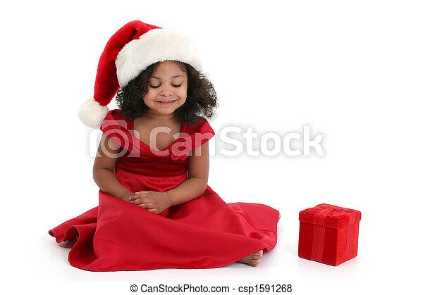 Christmas Girl - csp1591268