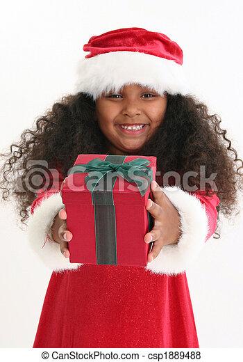 Christmas Girl - csp1889488