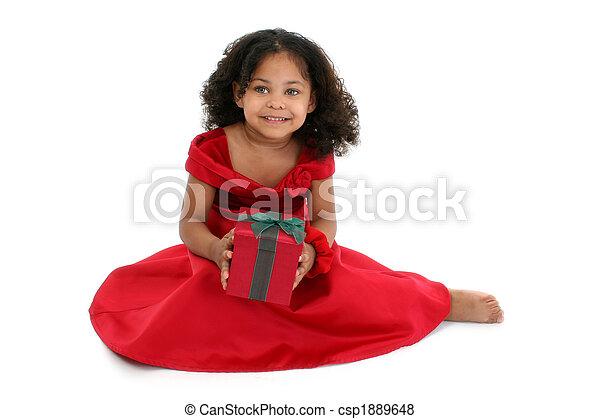 Christmas Girl - csp1889648