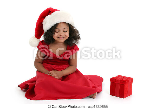 Christmas Girl - csp1889655