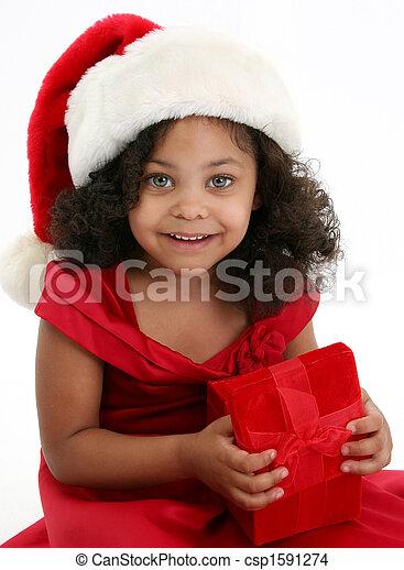 Christmas Girl - csp1591274
