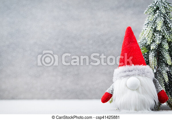 Christmas Gnome Und Santa Hat Christmas Pattern Background On The Classy Christmas Gnome Pattern