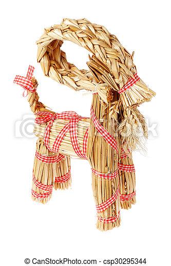 Christmas goat - csp30295344