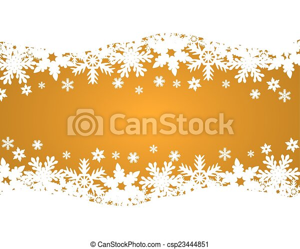 Christmas gold background  - csp23444851