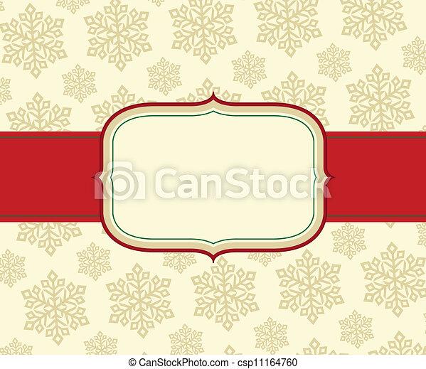 christmas greeting card - csp11164760