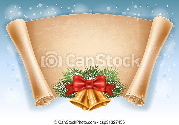 Christmas greeting card - csp31327456