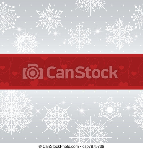 Christmas greeting card - csp7975789