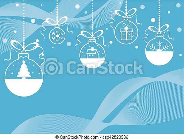 Christmas Greeting Card - csp42820336