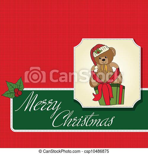 Christmas greeting card - csp10486875