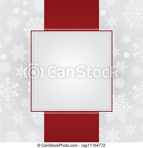 christmas greeting card - csp11164772