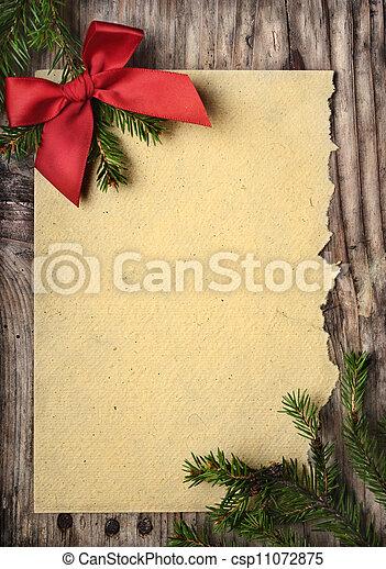 Christmas Greeting Card - csp11072875