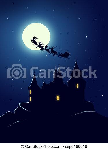 Christmas greeting card - csp0168818