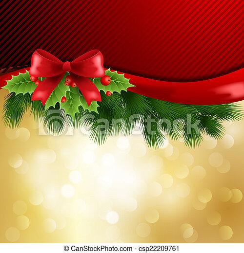 Christmas greeting - csp22209761