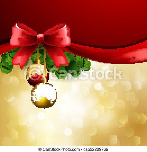 Christmas greeting - csp22209769