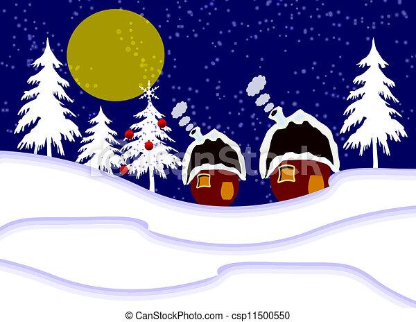 Christmas greeting - csp11500550