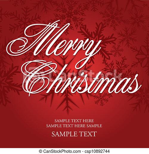 christmas greeting - csp10892744