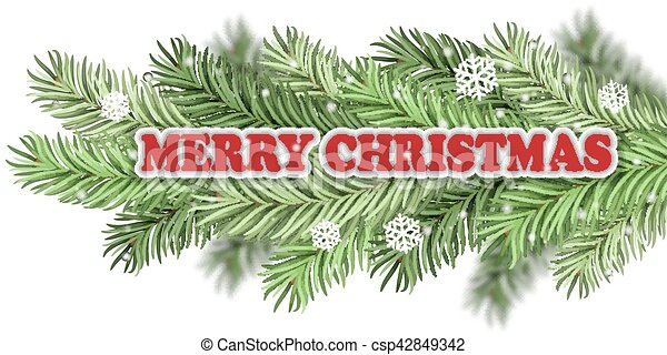 Christmas greeting - csp42849342