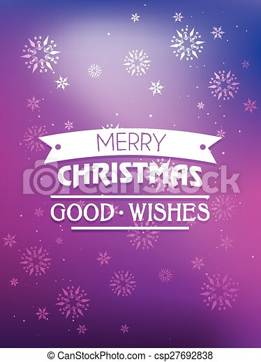 christmas greeting - csp27692838