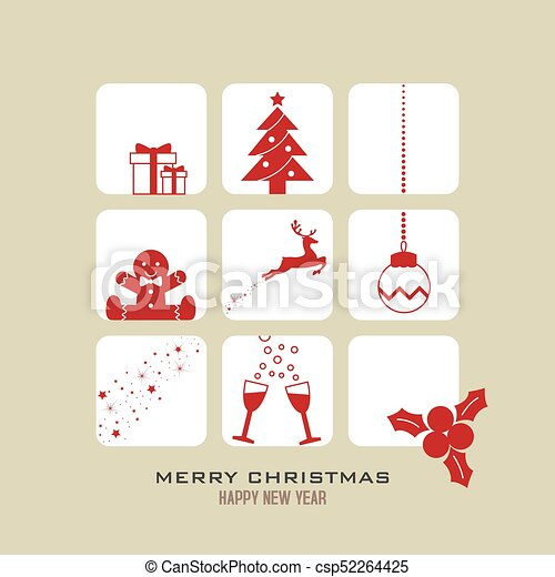 christmas greeting - csp52264425