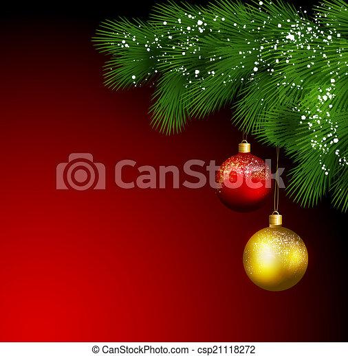 Christmas greeting - csp21118272