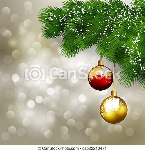 Christmas greeting - csp22210471