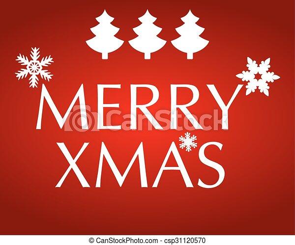 Christmas greetings - csp31120570