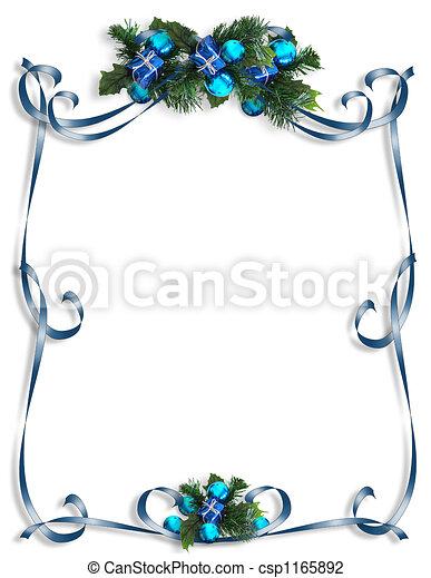 Christmas, Hanukkah Frame - csp1165892